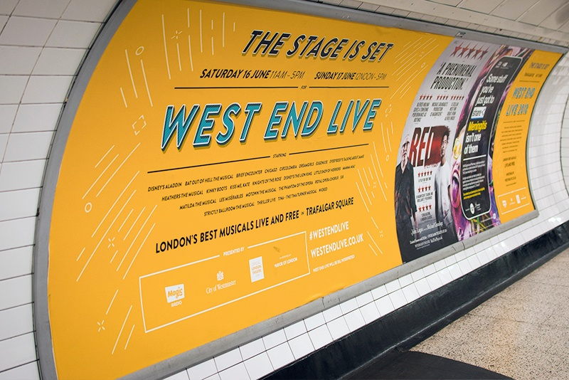West End Live London Underground